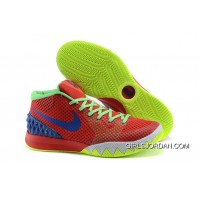 Nike Kyrie 1 Women Shoes Red Green Discount