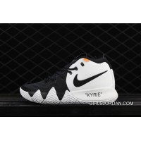 Nike Kyrie Four Owen Four Generation Of Color Matching Actual Combat Also Black And White Shoes Air Jordan 16 91-100 Discount