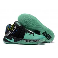 Nike Kyrie 2 Mint Green/Black Glow In The Dark Sole Super Deals