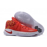 Nike Kyrie 2 Red White Basketball Shoes Super Deals