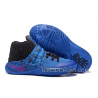 Nike Kyrie 2 Royal Blue/Purple-Black Mens Basketball Shoes For Sale