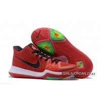 Nike Kyrie 3 University Red/Black-White On Sale Cheap To Buy