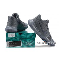 2017 New Nike Kyrie 3 Cool Grey-Anthracite-Polarized Blue Released Super Deals