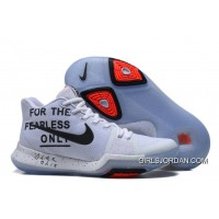 Nike Kyrie 3 The Fearless Only White Black For Sale