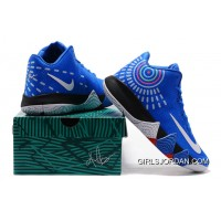 Nike Kyrie 4 Mens Basketball Shoes Royal Blue New Style
