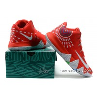 Nike Kyrie 4 Mens Basketball Shoes Red New Release