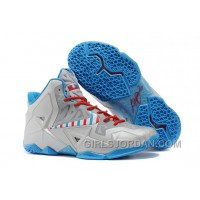 "Nike LeBron 11 ""Barber"" Mens Basketball Shoes For Sale"