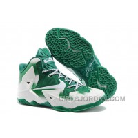 "Nike LeBron 11 ""Michigan State"" PE Mens Basketball Shoes Christmas Deals"