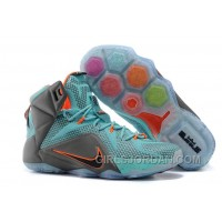 "Nike LeBron 12 ""Miami Dolphins"" Mens Basketball Shoes Cheap To Buy"