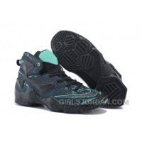 Nike LeBron 13 Grade School Shoes Dark Knight Christmas Deals