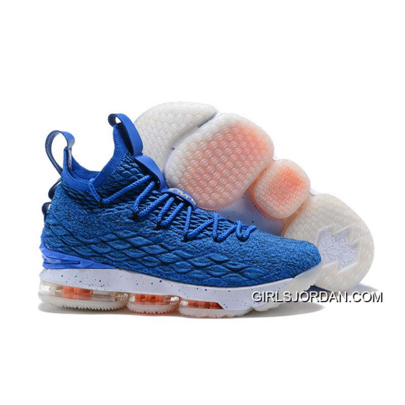 "separation shoes f9ca9 fa0c2 Outlet Nike LeBron 15 ""HWC"" Photo Blue/Photo Blue-Total Orange"