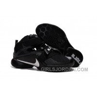 "Nike LeBron Soldier 9 ""Blackout"" Mens Basketball Shoes Lastest"