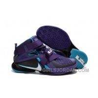 "Nike LeBron Soldier 9 ""Summit Lake Hornets"" Mens Basketball Shoes Discount"