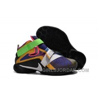 "Nike LeBron Soldier 9 ""What The LeBron"" Mens Basketball Shoes Discount"