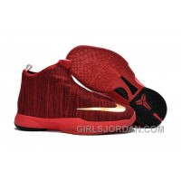 Nike Zoom Kobe Icon University Red/Metallic Gold For Sale Discount