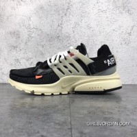 Nike X Off-White AIR Presto The Ten OW AA3830-001 Men Shoes For Sale
