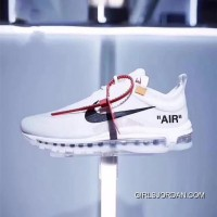 Nike Air Max 97 X OFF-WHITE AJ4585-100 Mens Lastest