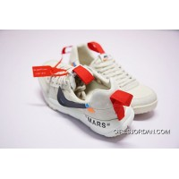 OFF White X Tom Sachs X NikeCraft Mars Yar 2.0 OW AA2261-100 Best