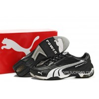 Puma BMW Sauber F1 Team Shoes BlackWhiteGrey Lastest