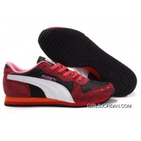 Puma Cabana Racer II LX Sneakers RedWhitePink Free Shipping