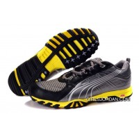Puma Complete Vectana Shoes GreyBlackYellow 890 Discount