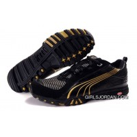 Puma Complete Vectana Shoes BlackGold 890 Discount