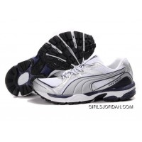 Puma Complete Vectana Shoes WhiteSilverPurple 1181 For Sale