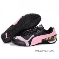 Mens Puma Drift Cat II SF Black-Pink-White Best