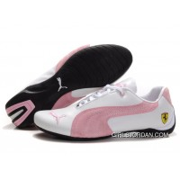 Puma Engine Cat Low Shoes White/Pink Online