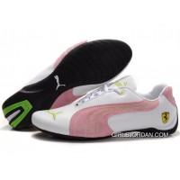 Puma Engine Cat Low Shoes White/Pink/Green Online