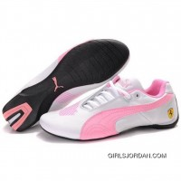Puma Engine Cat Low Shoes In White Pink Online
