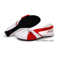 Puma Espera Ii Sandals White/Red Top Deals
