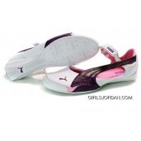 Puma Espera Ii Shoes White/Purple/Pink Discount