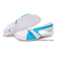 Puma Espera Ii Sandals White/Blue Top Deals