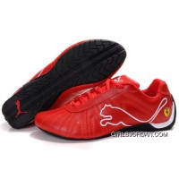 Puma Ferrari Shoes Red/White 826 For Sale