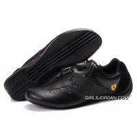 Men's Puma Ferrari Cat Big In Black Authentic