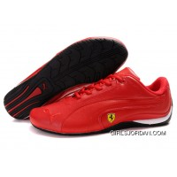 Men's Puma Ferrari In Red/Black Cheap To Buy