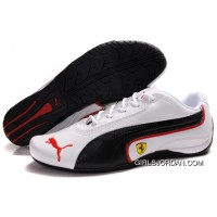 Men's Puma Ferrari In Black/White/Red Top Deals