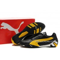 Puma Fluxion Ii Shoes Black/Yellow New Release