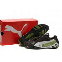 Puma Fluxion Ii Shoes Brown/White/Green New Style