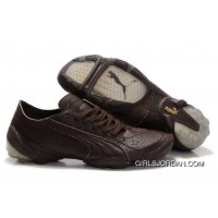 Puma Football Trainers Brown For Sale