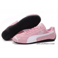 Women's Puma Fur 889 Pink/White/Black New Release