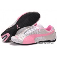 Women's Puma Future Cat Carve Pink/White Best