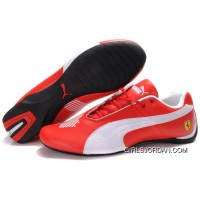 Women's Puma Future Cat Big Ferrari Red/White New Release