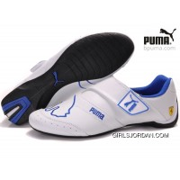 Puma Future Cat Baylee Shoes Blue/White Copuon Code