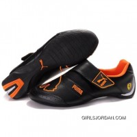 Women's Puma Baylee Future Cat In Black-Orange-II Authentic