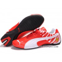 Men's Puma Future Cat In Red/White New Style
