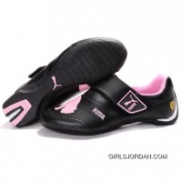 Puma Baylee Future Cat In Black-Pink Cheap To Buy