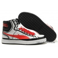 Puma First Round RP Sneakers WhiteRed Copuon Code