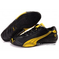 Mens Puma Kimi Raikkonen In Black/Gold Lastest
